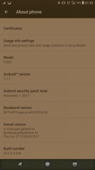 Sony Xperia X Compact si aggiorna con importanti novità!