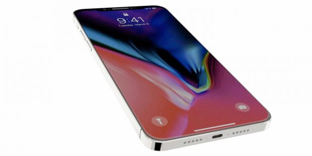 iPhone SE 2018 con design in stile iPhone X - video